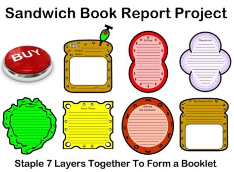 Reading worksheets - comprehension, book reports
